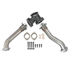 Exhaust Up Pipes Kit for 99.5-03 7.3L Powerstroke