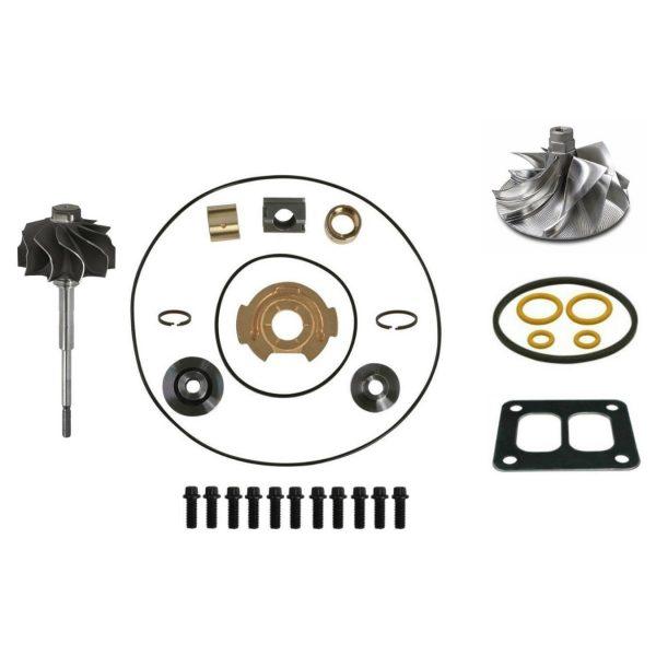 TP38 Master Turbo Rebuild Kit Billet Compressor Wheel For 94-97 7.3L Ford Powerstroke Diesel
