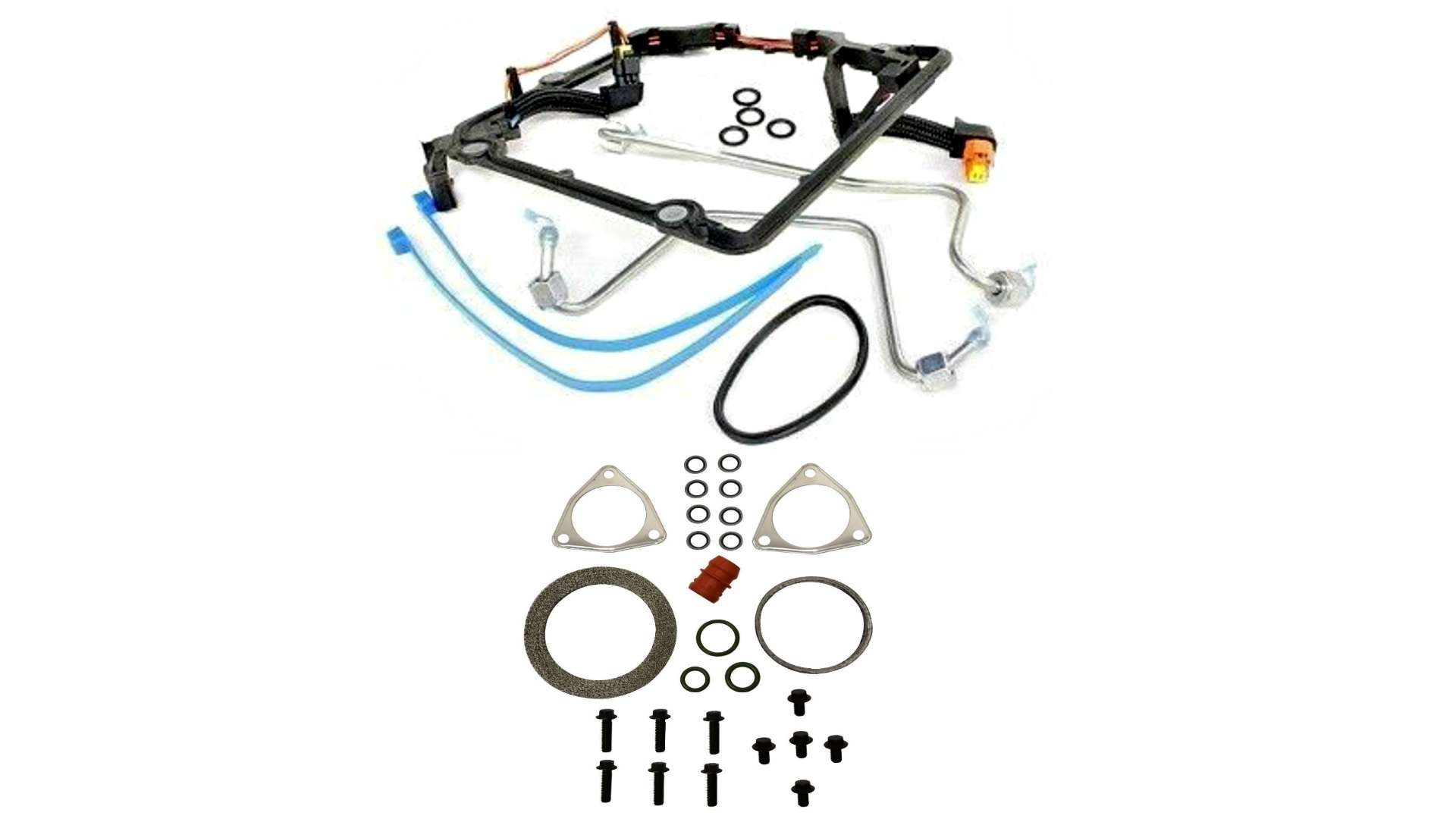6 4l powerstroke diesel high pressure fuel pump turbo gasket kit fit 08