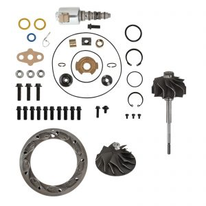 GT3782VA Master Turbo Rebuild Kit Cast Compressor Wheel For 03-Early 04 6.0L Ford Powerstroke Diesel