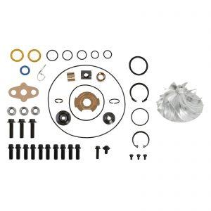 SPOOLOGIC GT3782VA Turbo Rebuild Kit Billet Compressor Wheel for 05.5-10 6.0L Powerstroke