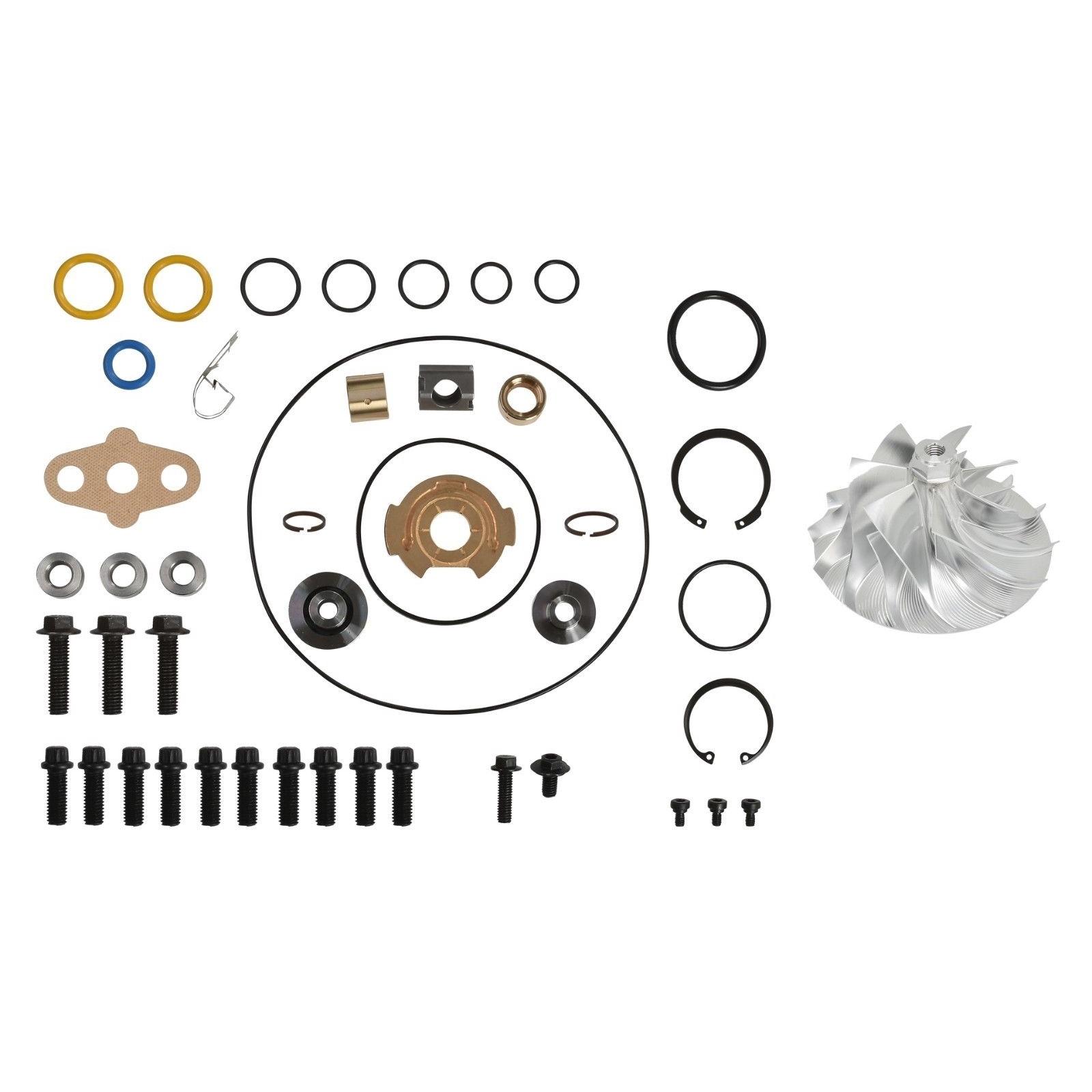 GT3782VA Turbo Rebuild Kit Billet Compressor Wheel For 05.5-10 6.0L Ford Powerstroke Diesel