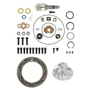 SPOOLOGIC PowerMax GT3788VA Turbo Rebuild Kit 6+6 Billet VGT Vanes for 03-07 6.0L Powerstroke