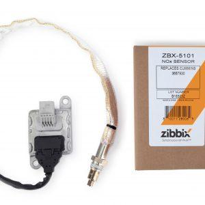 Zibbix ZBX-5101 NOx Nitrogen Oxide Sensor Inlet For 13-18 11.9L 15L ISX Cummins Diesel