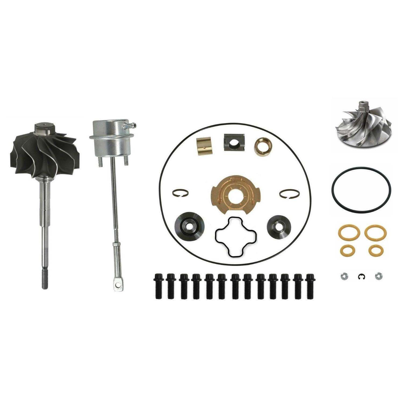 GTP38 Master Turbo Rebuild Kit Billet Compressor Wheel For 99-03 7.3L Ford Powerstroke Diesel
