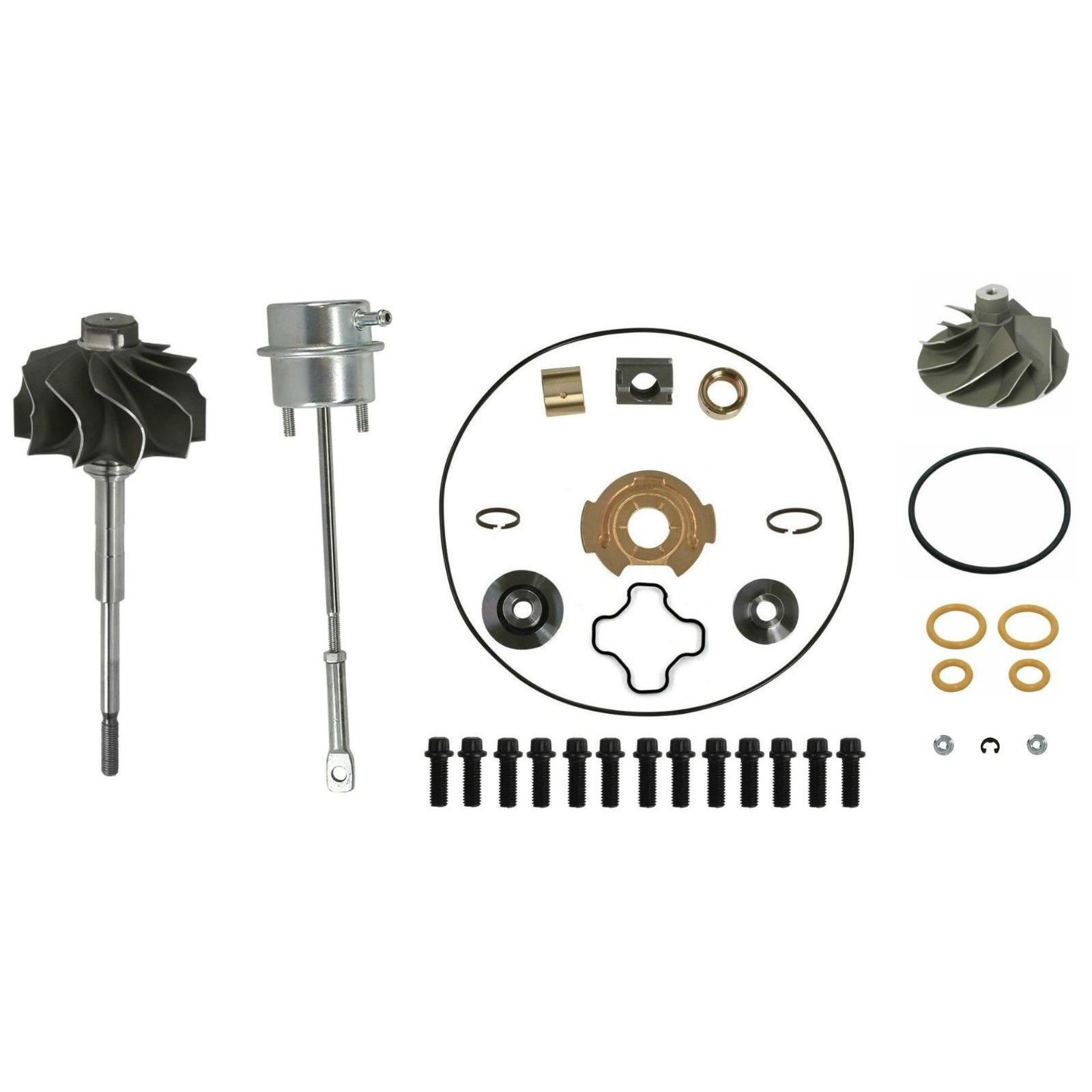 GTP38 Master Turbo Rebuild Kit Cast Compressor Wheel For 99-03 7.3L Ford Powerstroke Diesel