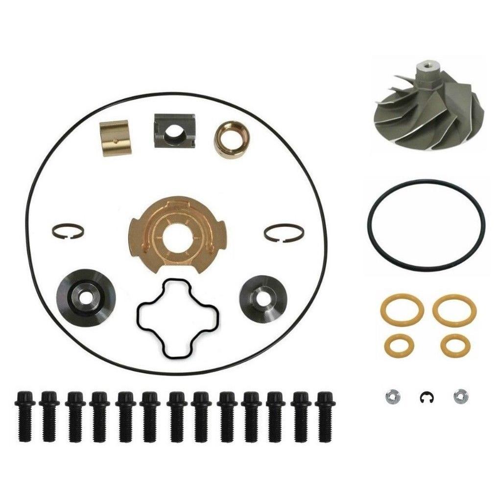 GTP38 Turbo Rebuild Kit Cast Compressor Wheel For 99-03 7.3L Ford Powerstroke Diesel