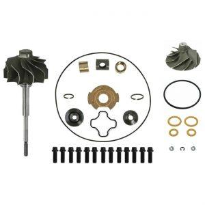 GTP38 Turbo Rebuild Kit Cast Compressor Wheel Turbine Shaft For 99-03 7.3L Ford Powerstroke Diesel