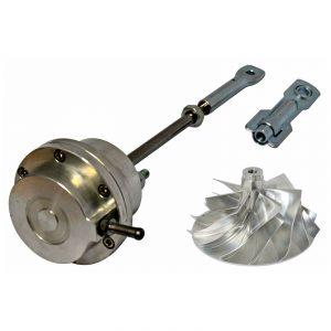 GTP38 Upgraded Wastegate Actuator Billet Compressor Wheel For 99.5-03 7.3L Ford Powerstroke Diesel