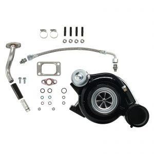 HY35W Turbocharger Billet Compressor Wheel Black For 03-Early 04 5.9L ISB Dodge Ram Cummins Diesel
