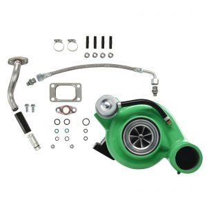 HY35W Turbocharger Billet Compressor Wheel Green For 03-Early 04 5.9L ISB Dodge Ram Cummins Diesel