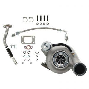 HY35W Turbocharger Billet Compressor Wheel Plain For 03-Early 04 5.9L ISB Dodge Ram Cummins Diesel