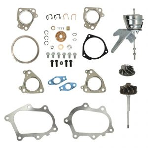IHI RHG6 Master Turbo Rebuild Kit Cast Compressor Wheel For 01-04 6.6L LB7 Chevy GMC Duramax Diesel