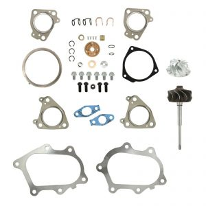 IHI RHG6 Turbo Rebuild Kit Billet Compressor Wheel Turbine Shaft For 01-04 6.6L LB7 Chevy GMC Duramax Diesel