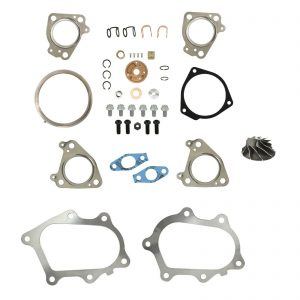 IHI RHG6 Turbo Rebuild Kit Cast Compressor Wheel For 01-04 6.6L LB7 Chevy GMC Duramax Diesel