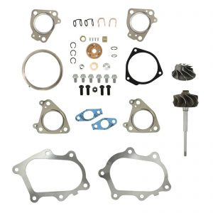 IHI RHG6 Turbo Rebuild Kit Cast Compressor Wheel Turbine Shaft For 01-04 6.6L LB7 Chevy GMC Duramax Diesel