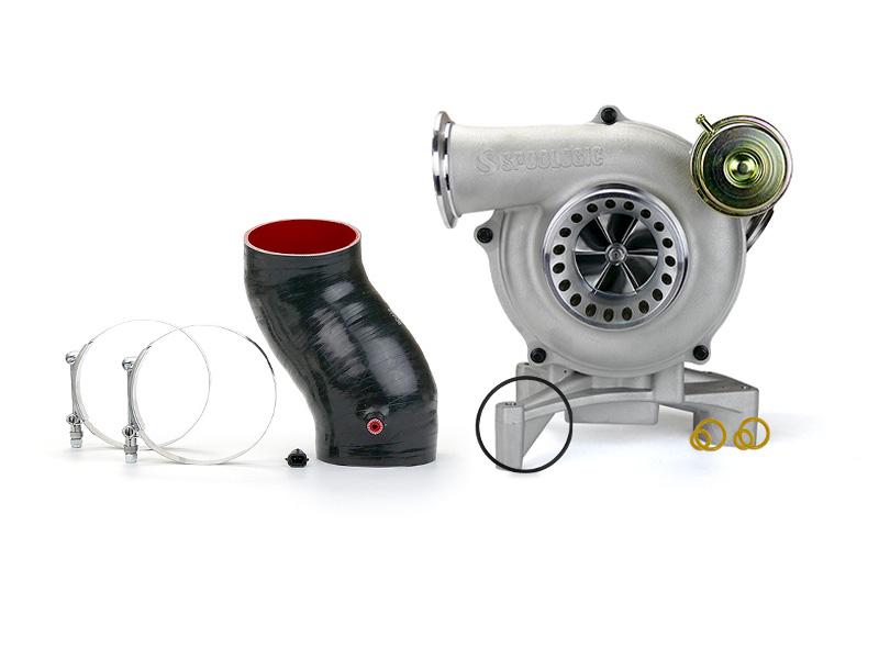 SPOOLOGIC GTP38R Ceramic Ball Bearing Turbocharger for 99.5-03 7.3L Powerstroke