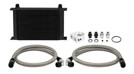 Mishimoto Universal 25-Row Oil Cooler Kit Black