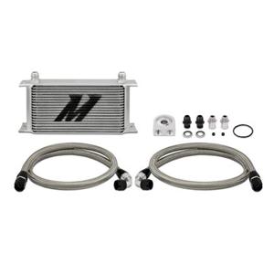 Mishimoto Universal 19-Row Oil Cooler Kit Silver