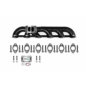 5.9L 03-07 Dodge Ram Upgraded High Flow Ceramic Coated Exhaust Manifold For Cummins