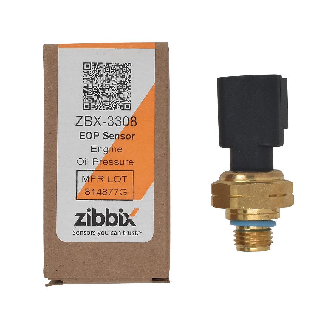 Zibbix ZBX-3308 EOP Engine Oil Pressure Sensor For ISX ISM ISL ISB Cummins Freightliner Kenworth
