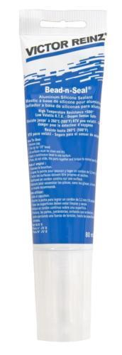 Mahle Silicone Bead-n-Seal Aluminum Sealant High Temperature Resistance 80mL