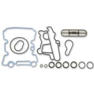 USA Made Viton® Oil Cooler Gasket O-Ring Kit For 6.0L 03-10 Ford Powerstroke Diesel