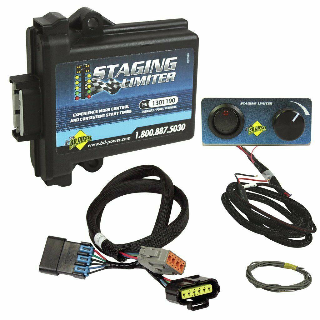 BD Diesel Staging Limiter for 07-19 5.9L 6.7L Dodge Cummins 24V 11-18 6.7L Ford Powerstroke