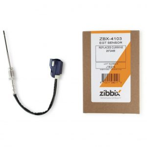 Zibbix ZBX-4103 EGT Exhaust Gas Temperature Sensor DOC DPF For 11-14 ISM ISX Cummins Diesel