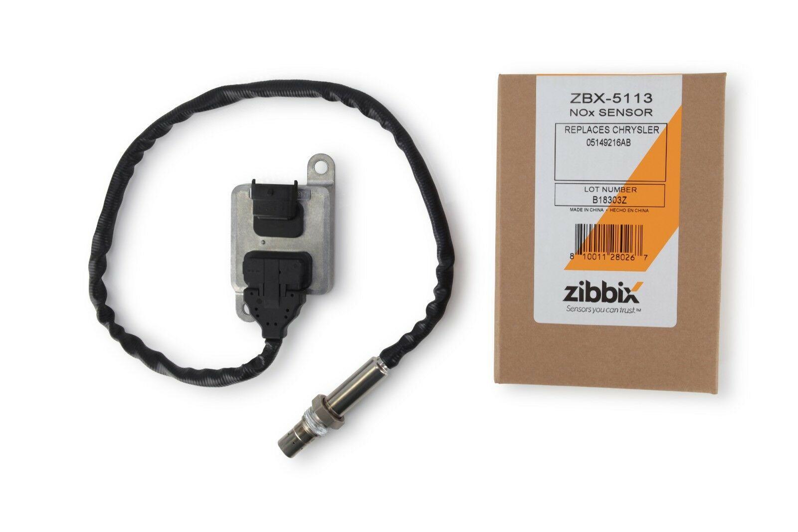 Zibbix ZBX-5113 NOx Nitrogen Oxide Sensor Outlet For 11-12 6 7L ISB Dodge  Ram Cummins Diesel