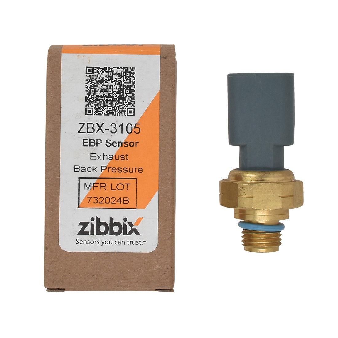 Zibbix ZBX-3105 EBP Exhaust Back Pressure Sensor For 6.7L ISB ISC ISM ISX Dodge Ram Cummins Diesel