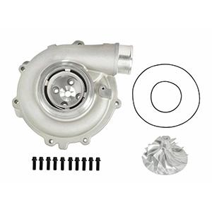 SPOOLOGIC 6+6 Billet Wheel + Compressor Housing for 03-07 6.0L Powerstroke