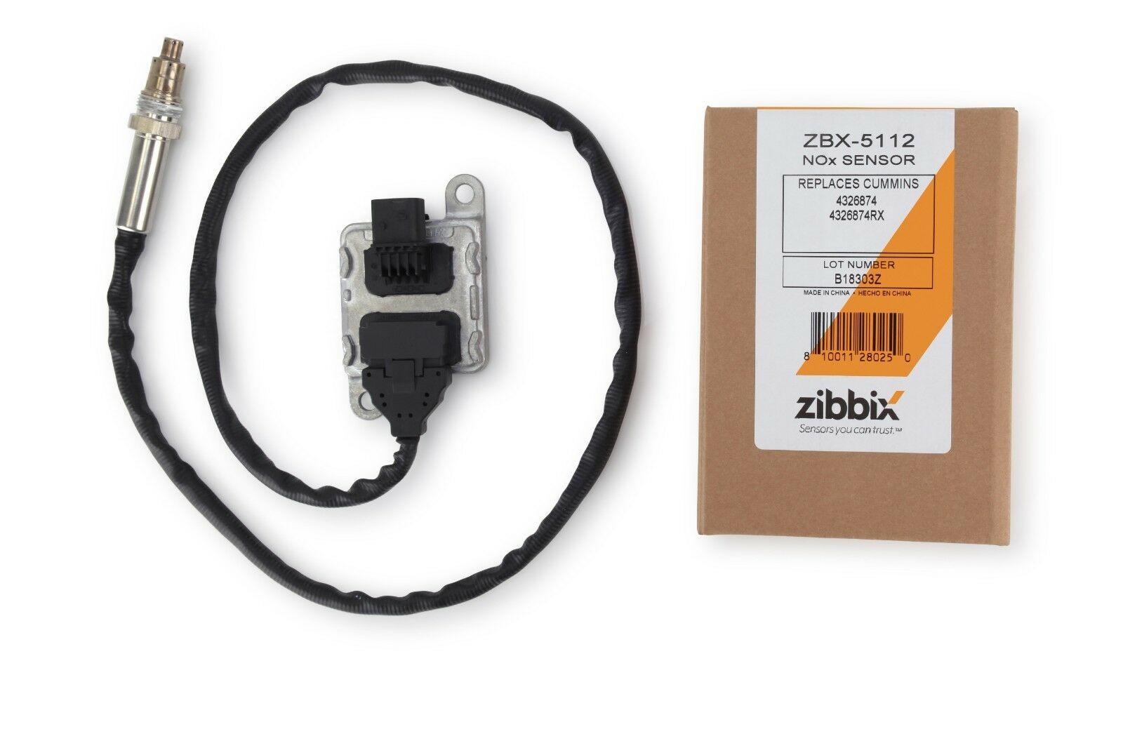 Zibbix NOx Nitrogen Oxide Sensor Outlet For 13-18 11 9L 15L ISX Cummins