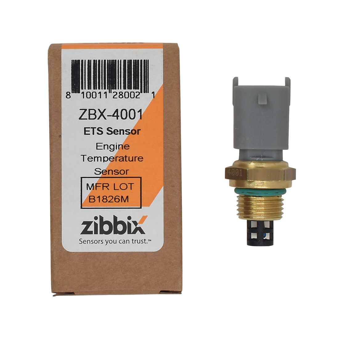 Zibbix Ect Engine Coolant Temperature Sensor For 94