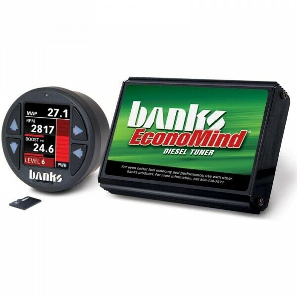 Banks Power BP61449 EconoMind Tuner With iDash 1.8 DataMonster For 06-07 5.9L Dodge Ram Cummins ISB