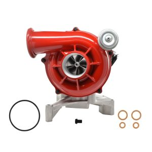 7.3L 99.5-03 Ford Powerstroke GTP38 High Performance Turbocharger 5+5 Billet Wheel Red