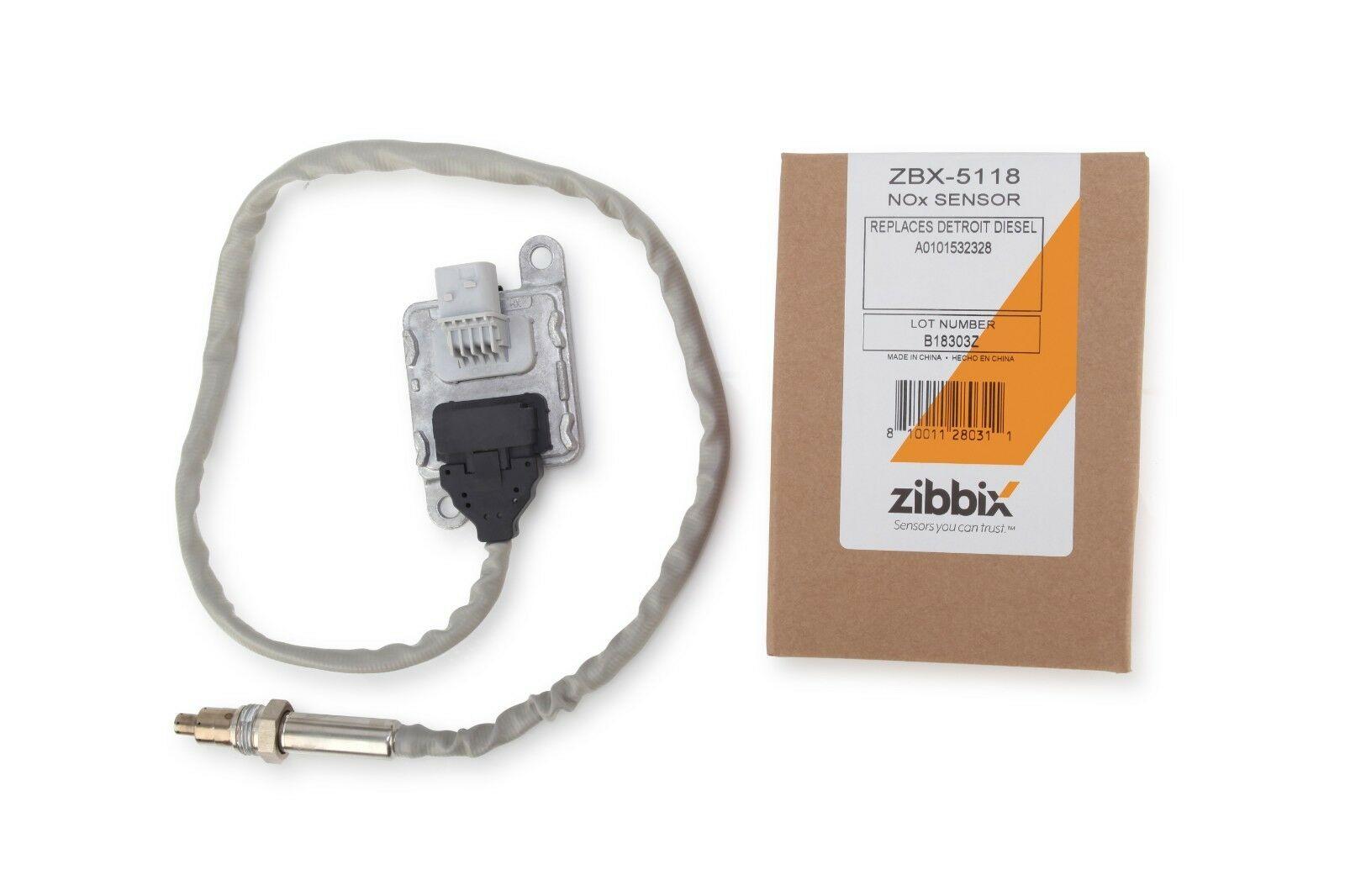 Zibbix NOx Nitrogen Oxide Sensor Outlet For DD13 DD15 DD16 Detroit Diesel
