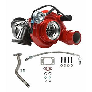 SPOOLOGIC HE351CW Turbocharger with Billet Wheel for 04.5-07 5.9L Cummins 24V