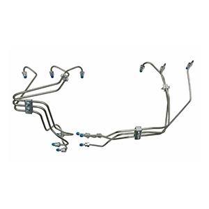 5.9L Injection Line Set For 89-91 Dodge Ram Cummins Diesel 6BT Non-Intercooled