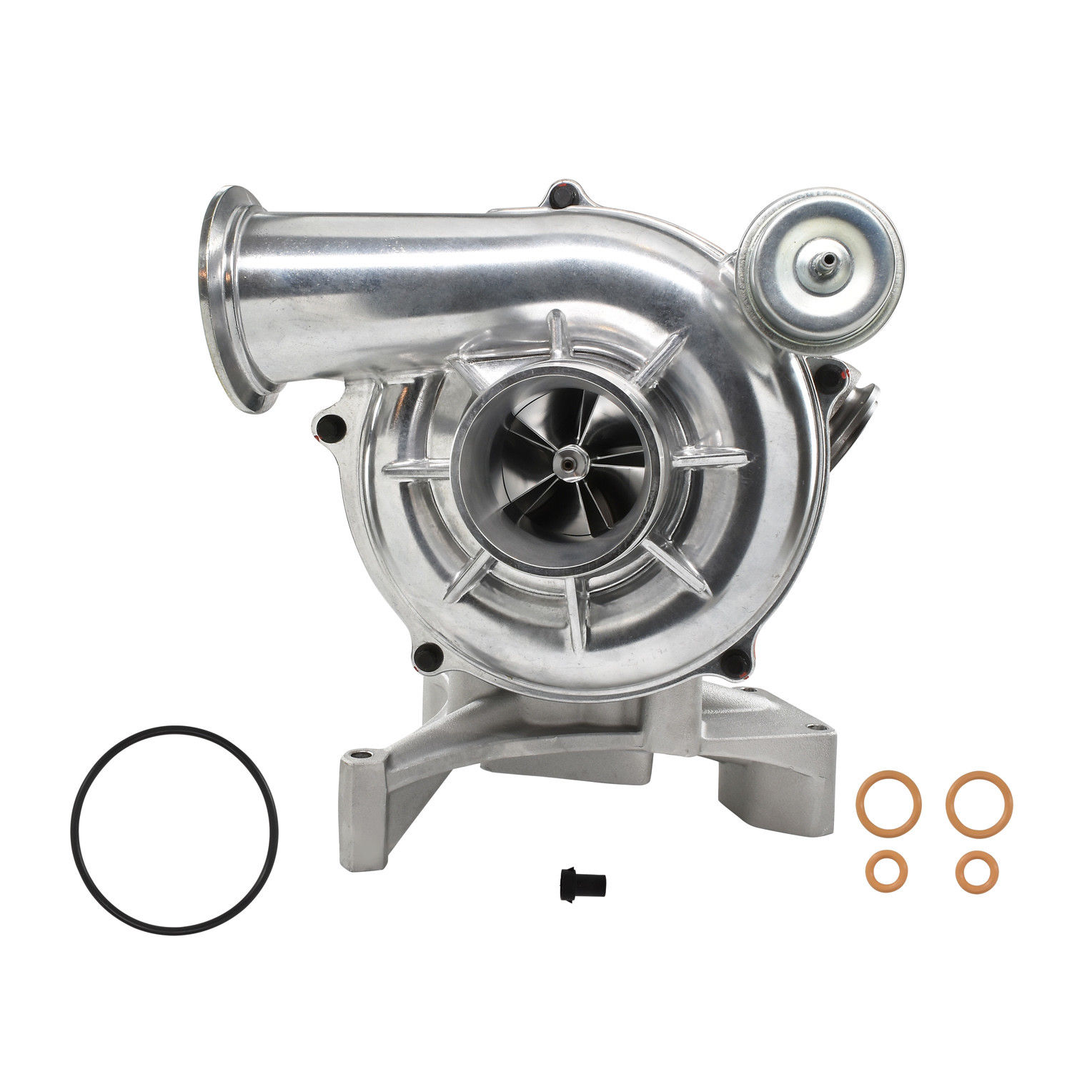 GTP38 High Performance Turbocharger 5+5 Billet Wheel Plain For 99.5-03 7.3L Ford Powerstroke Diesel