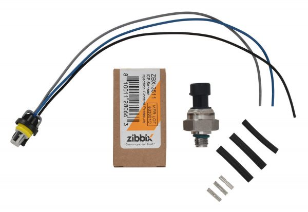 Zibbix ZBX-3511-PK2 ICP Injection Control Pressure Sensor Pigtail Kit For 03-04 6.0L Ford Powerstroke Diesel