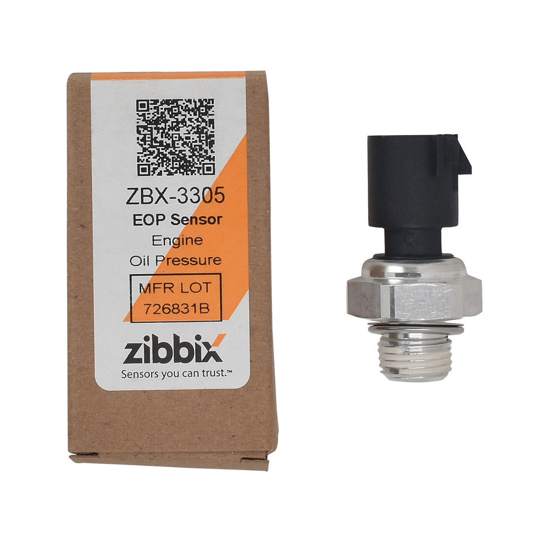 Zibbix ZBX-3305 EOP Engine Oil Pressure Sensor For 11-16 6.6L LML Chevy/GMC Duramax Diesel