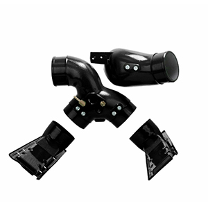 7.3L Intake Manifold Plenums And Spyder Black For 99.5-03 Ford Powerstroke Diesel