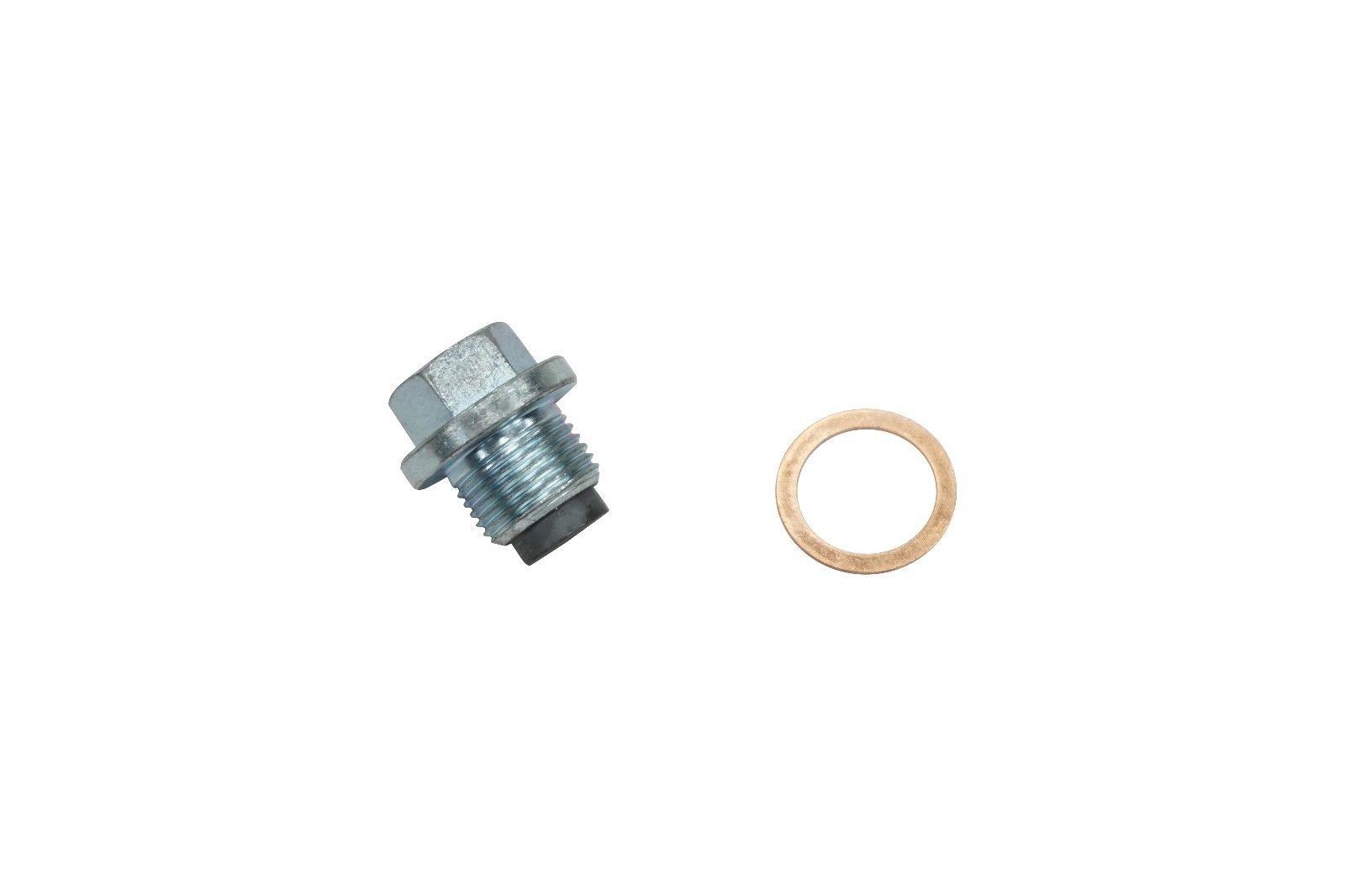 Magnetic Engine Oil Drain Plug for 03-18 5.9L 6.7L Cummins ISB