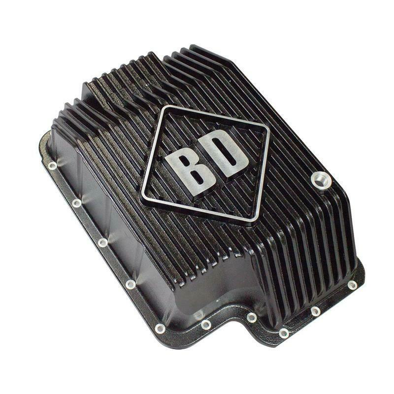BD Diesel Deep Sump Trans Pan for 94-10 6.0L 6.4L 7.3L Ford Powerstroke